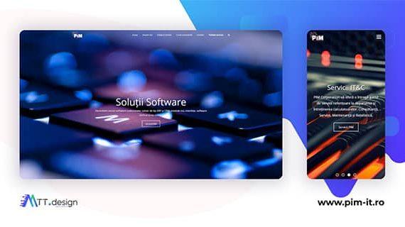 MTT.design Portofoliu - PIM Corporation, solutii IT&security