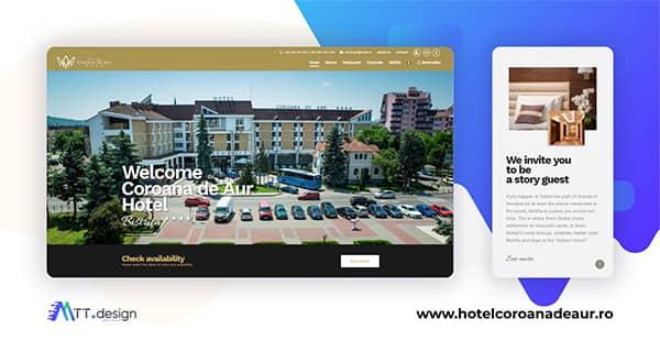 MTT.design Portofoliu - Hotel Coroana de Aur Bistrita