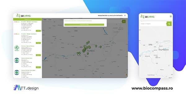MTT.design Portofoliu - Biocompass - Magazine bio la un click distanta