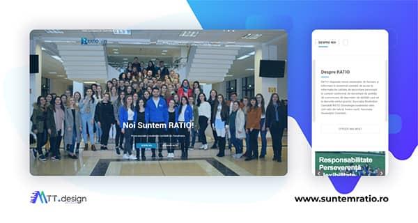 MTT.design Portofoliu - RATIO Asociatia Studentilor Contabili